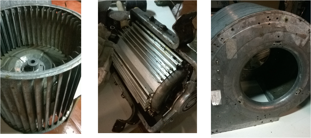 extractor humos limpio